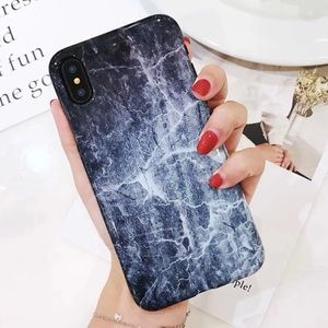 Accessories - NEW iPhone X Glossy Granite Marble Soft TPU Case